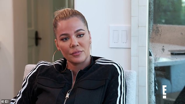 Not going to happen: Khloe Kardashianrevealed she doesn't have any desire to meet someone new - or freeze her eggs - in a teaser for the next episode of Keeping Up With The Kardashians