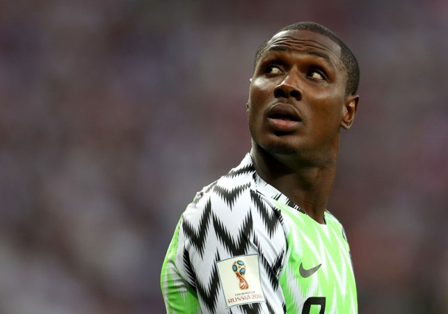 Odion Ighalo has hit back at his critics (Picture: Getty)