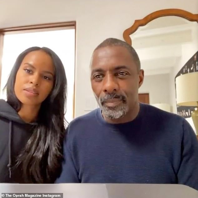 Feeling better: Idris Elba and wife Sabrina will also take part. The couple were both diagnosed with COVID-19 last month