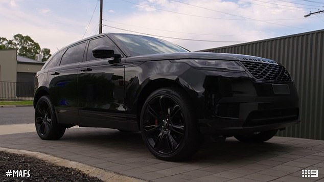 Flash!The law graduate drives a $90,000 Range Rover Velar, boasts a $20,000 shoe collection and has more designer handbags than some department stores