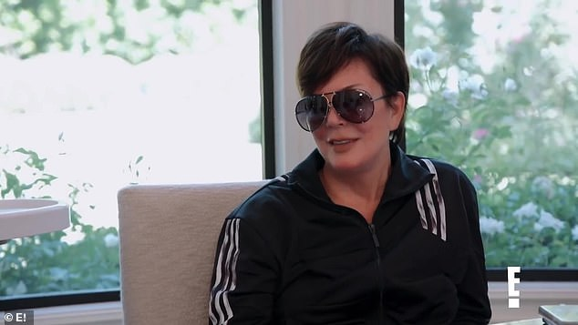 Say what!? Jenner was shocked by her daughter's confession