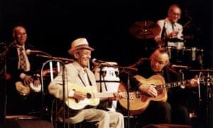 Compay Segundo and Ry Cooder in the Buena Vista Social Club