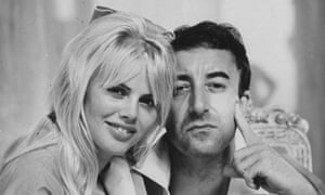 Ekland with Peter Sellers.