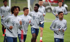 Bayern Munich prepare for their match at Union Berlin on Sunday
