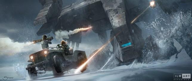 Metal Gear Solid movie artwork