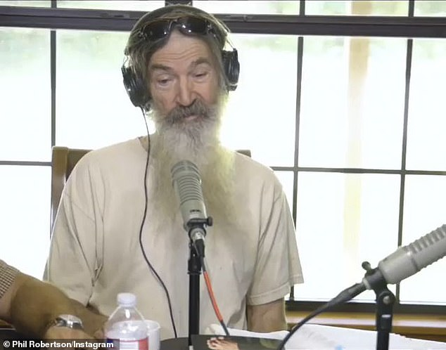 Former philanderer: When Robertson – who's admitted to his philandering ways before devoting himself to the church – commented on the matter, mentions of God soon followed