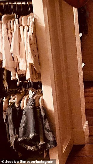Her closet hadat least 15 pairs of Daisy Duke style cut off shorts