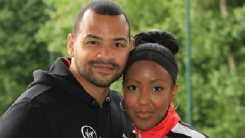 Michael Underwood and Angellica Bell in 2012