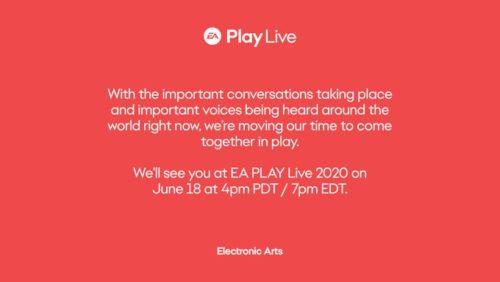 EA officially delays EA Play