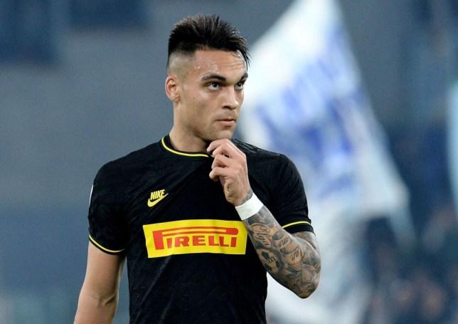 FC Internazionale striker Lautaro Martinez