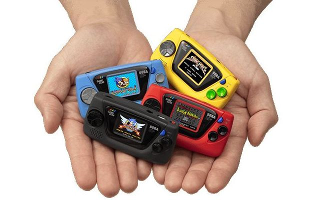 Sega Game Gear Micro console