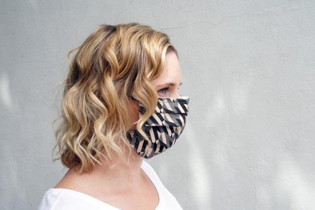 British Fashion Council PPE Masks.