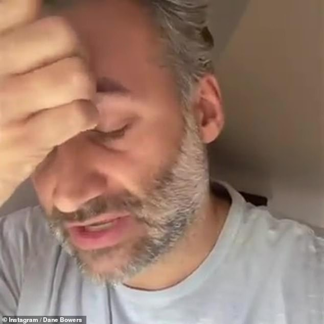 Confusion: The artist, who is based in Dubai, claimed he wanted to 'highlight' those who have been 'using the hashtag to incite violence and negativity'