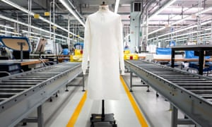Zegna Group produced 280,000 protective hospital suits for medical staff for the Piedmont Region and Canton Ticino in Italy, where two of the group' plants were converted to suit production