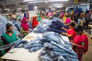Workers at Denim Expert