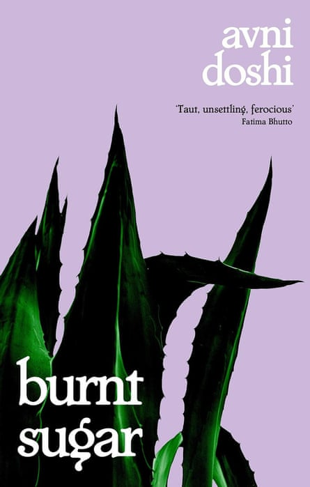 The cover of Burnt Sugar.