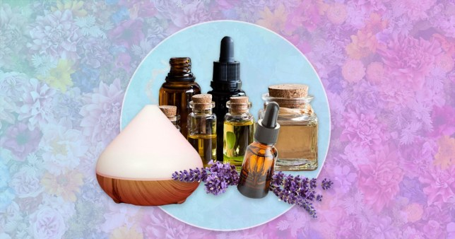 warning of essential oils and diffusers