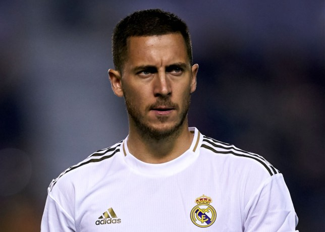 Eden Hazard endured a difficult first season at Real Madrid