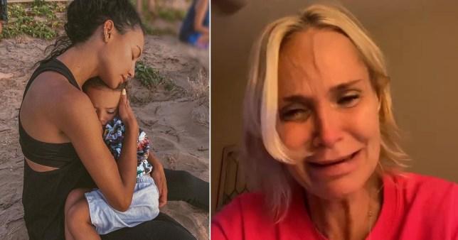 Kristin Chenoweth in tears as she pays tribute to Naya Rivera