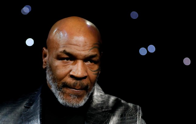 Boxing - Deontay Wilder v Tyson Fury - WBC Heavyweight Title - The Grand Garden Arena at MGM Grand, Las Vegas, United States - February 22, 2020 Former boxer Mike Tyson before the fight REUTERS/Steve Marcus