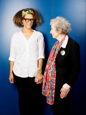 Bernardine Evaristo won the Booker prize jointly with Margaret Atwood.