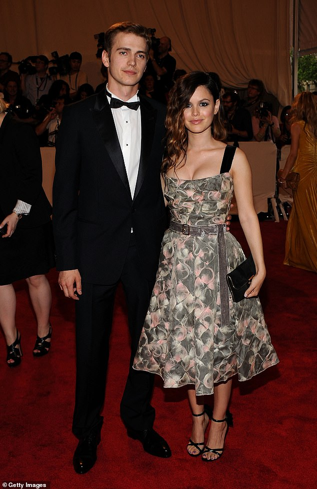 Her ex:The actress has five-year-old daughter called Briar Rose with her former partner, Star Wars actor Hayden Christensen; seen in May 2010