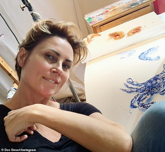 'Need more time for my art': Now working as a successful artist, Dee candidly spoke about her life after being diagnosed with cancer in December