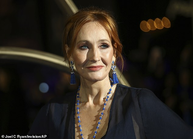 JK Rowling (pictured here in 2018) has reportedly had very little involvement with the development of the upcoming game