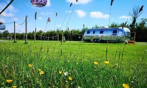 etties field airstream buttercups