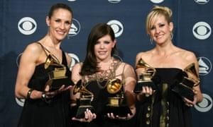 Winning five Grammys in 2007.