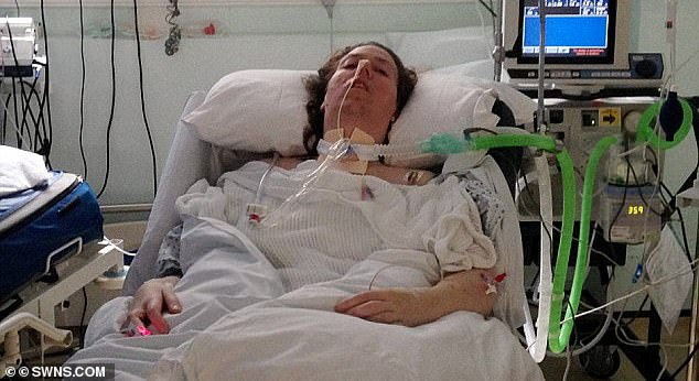 Jenny Bone fell into a coma after falling ill with Guillain-Barre Syndrome in 2015