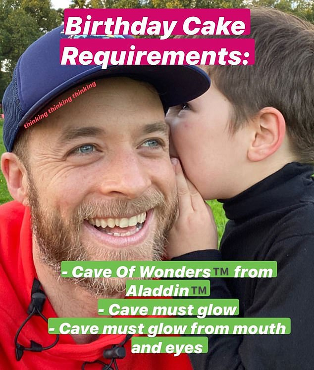 Birthday cake requirements! Hamish Blake has been wowing fans with epic cake creations for his son Sonny's birthday each year