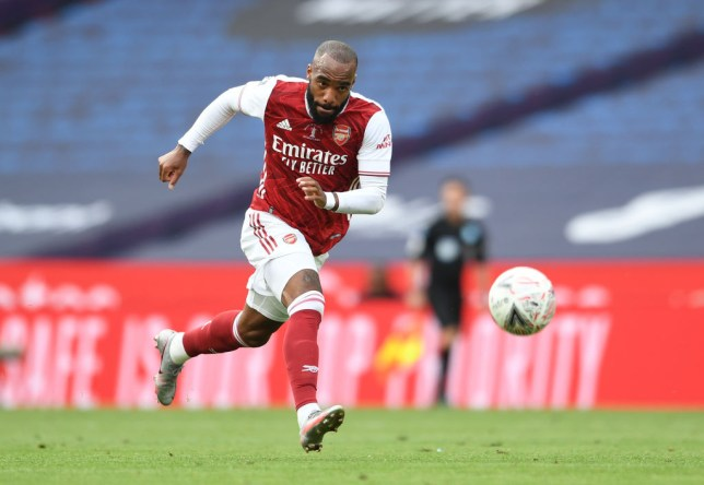 Lacazette is set to be offloaded