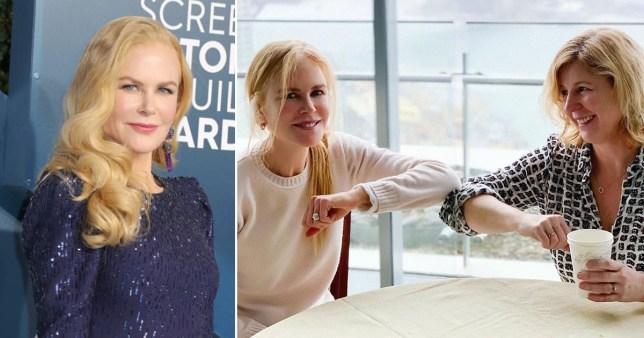 Nicole Kidman teases new TV show Pics: Nicole Kidman/Instagram/Getty