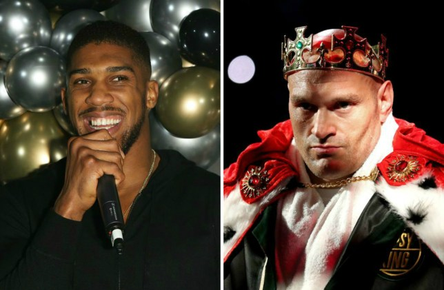 Anthony Joshua says Tyson Fury 'should be looking to retire soon'