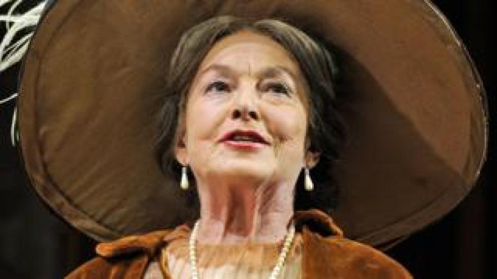 Barbara Jefford in Pygmalion at the Old Vic in 2008