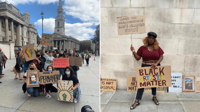 Black Art Matters protest