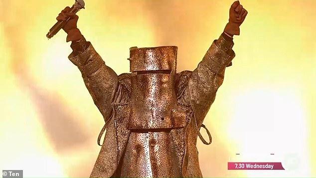 REVEALED! On Monday's grand finale episode of The Masked Singer Australia, the celebrity inside the Bushranger costume was finally revealed