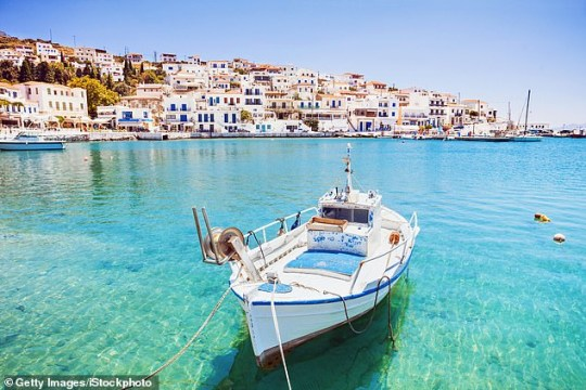 It's not hard to see why the Cyclades are among Greece's most popular islands (pictured: Andros)