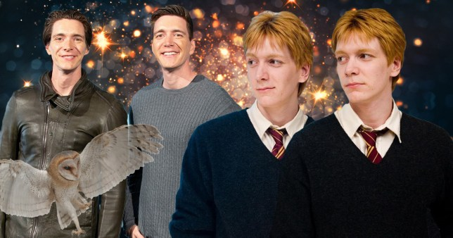 Harry Potter stars James and Oliver Phelps (Fred and George Weasley)