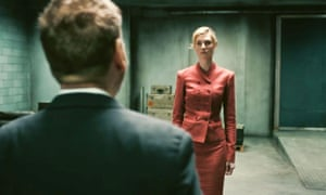 Leading the way … Kenneth Branagh and Elizabeth Debicki in Tenet.