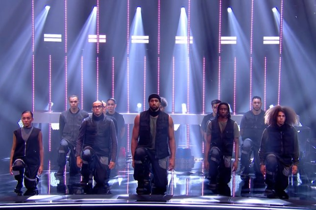 Diversity performing on Britain's Got Talent