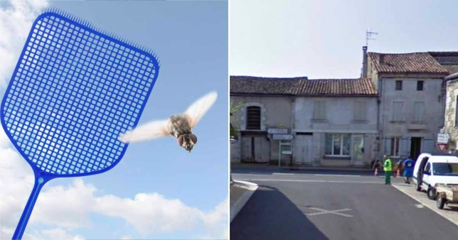 A fly swatter and the village where it happened