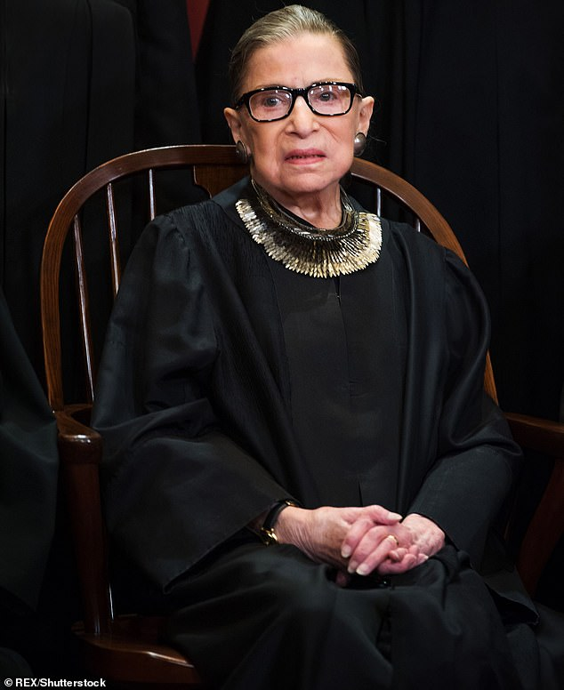 Dearly departed: Celebrity tributes poured in this Friday for Supreme Court Justice Ruth Bader Ginsburg who died at the age of 87