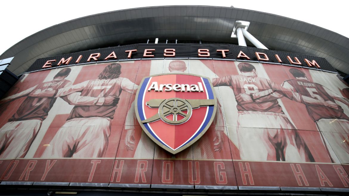 Arsenal play their home games at the Emirates Stadium