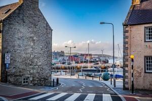 Lerwick harbour.