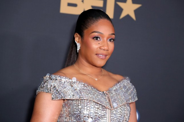 PASADENA, CALIFORNIA - FEBRUARY 22: Tiffany Haddish attends the 51st NAACP Image Awards, Presented by BET, at Pasadena Civic Auditorium on February 22, 2020 in Pasadena, California. (Photo by Leon Bennett/Getty Images for BET)
