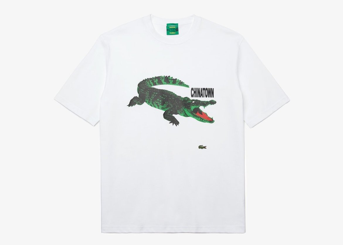 Lacoste announces new collaboration with Chinatown Market