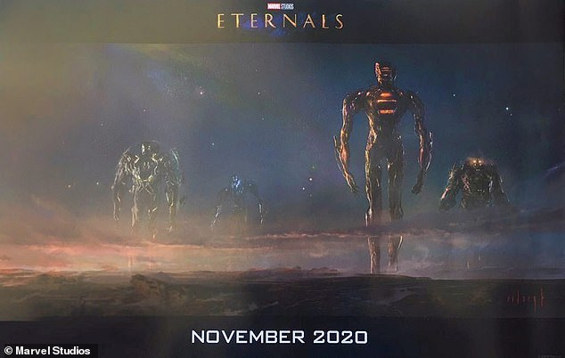 Delayed: The Eternals ¿ which was meant to follow Black Widow in February next year ¿ will hit cinema screens on Nov. 5, 2021
