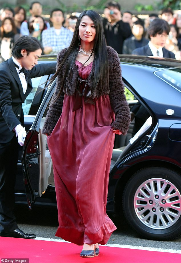 TV star:The actress was recently featured on the Japanese series Aibo: Tokyo Detective Duo, in which she played a recurring role from 2017 through this year; shown in 2007